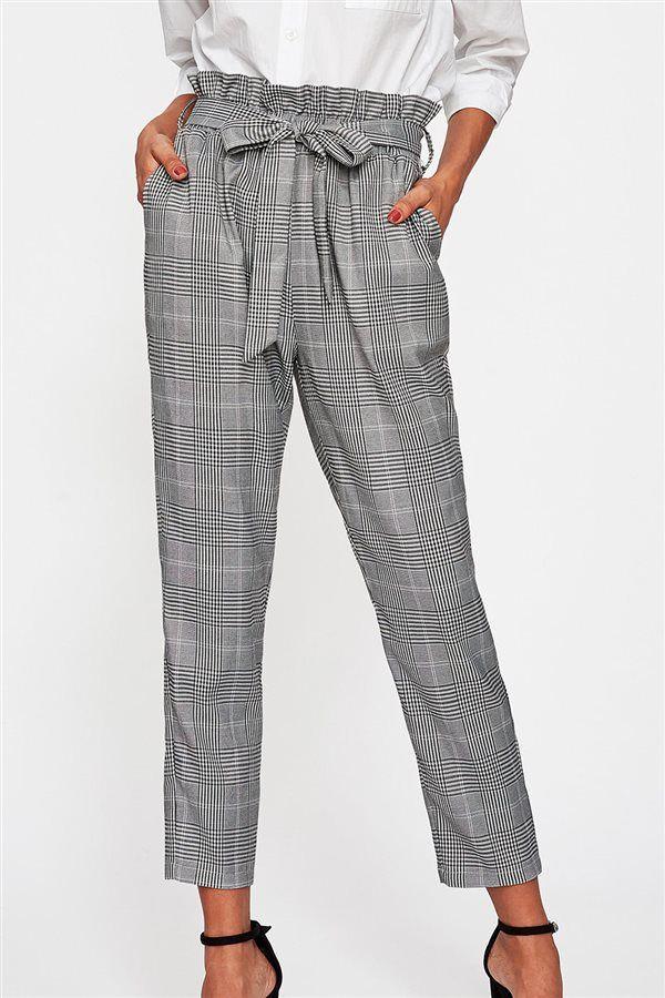 83da1885d Pantalón de vestir | INVIERNO 2018 en 2019 | Pantalon de tela mujer ...