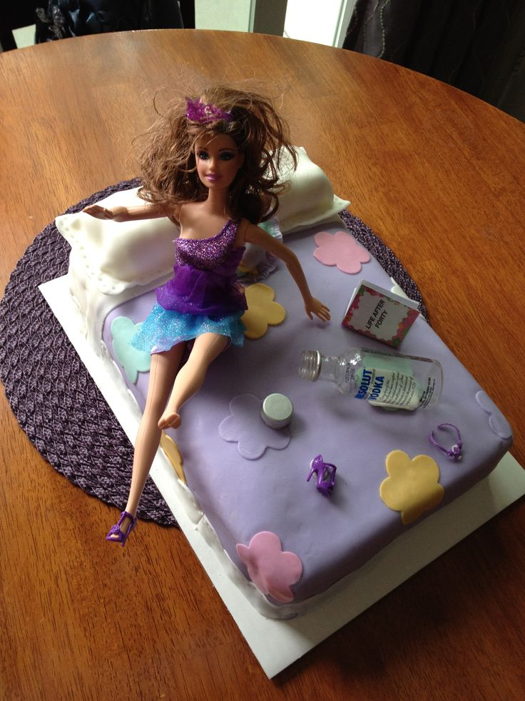 17 Best ideas about Drunk Barbie Cake on Pinterest 21st ...