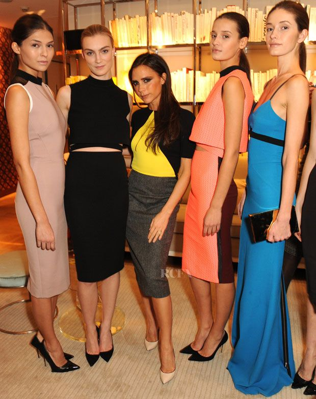 Victoria Beckham Launches Her Exclusive Quincy Accessories Collection At Selfridges