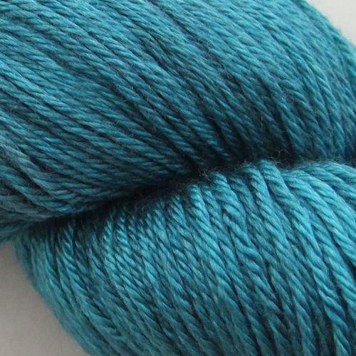 The Uncommon Thread Merino Silk Fingering Seascape Men i farven Robin's egg