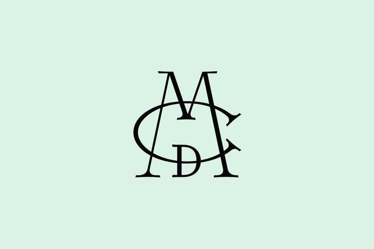 Monogram for luxury lifestyle brand Mona De Castellarnau designed by Anagrama