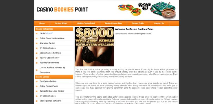 Casino Bookies point is a websites dedicated to all casino gamblers around the world