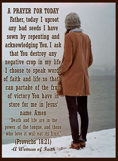 A prayer for today...