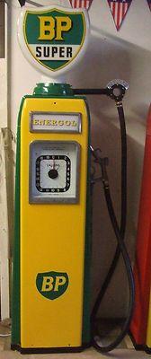 Vintage petrol pump 50's retro classic car display bar furniture BP gas pump