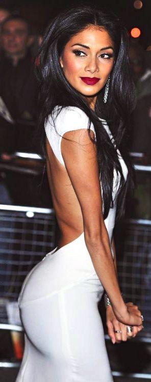 Gorgeous white backless dress