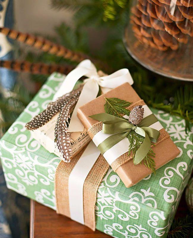 Красивые идеи новогодних украшений в интерьере фото 10