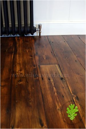 antique pine floor
