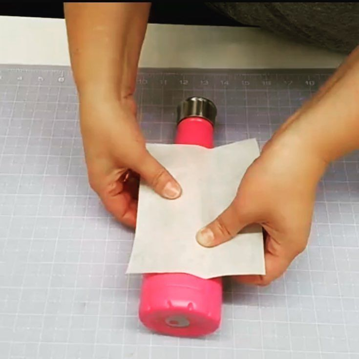 Having trouble putting vinyl on curved surfaces?! Head over to Facebook to watch us in action!