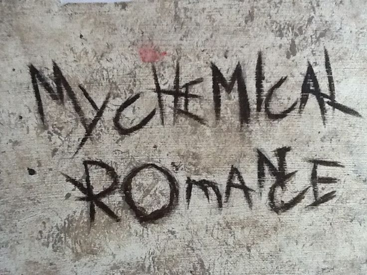 Another drawing/painting of a album cover of my chemical romance.