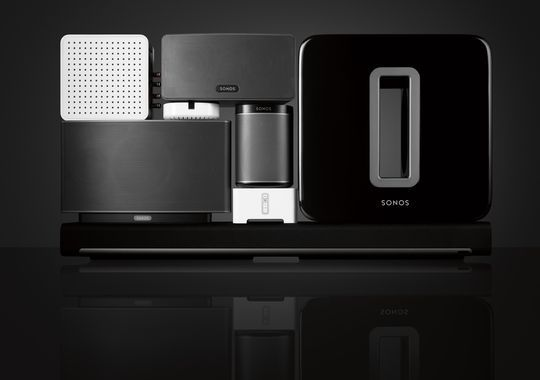 Sonos' array of in-home connected music systems is ready to ENJOY.