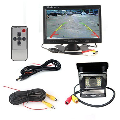 12V 24V Car Vehicle Rear View IR Night Vision Backup Camera Waterproof Kit  7 TFT LCD Monitor Parking Assistance System For BusTruck For Sale https://wirelessbackupcamerareviews.info/12v-24v-car-vehicle-rear-view-ir-night-vision-backup-camera-waterproof-kit-7-tft-lcd-monitor-parking-assistance-system-for-bustruck-for-sale/