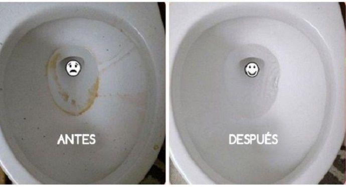 O vaso sanitário é a parte do banheiro que necessita de mais atenção.A necessidades de limpeza nele é constante.Mesmo assim, é comum que fique com manchas amareladas, forçando-nos a usar produtos químicos para que volte a ficar como novo.
