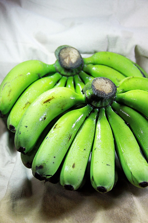 Green Bananas | Fruits | Pinterest