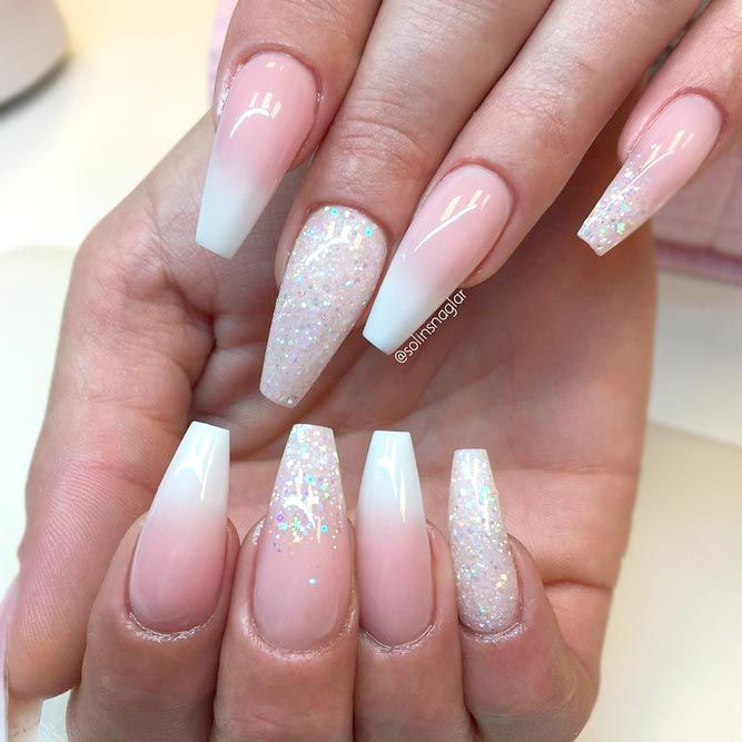 Ombre Glitter Nails Designs To Make Your Look Shiny ...