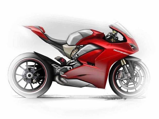Ducati Panigale V4 Ducati Panigale Bike Sketch Ducati Motorbike