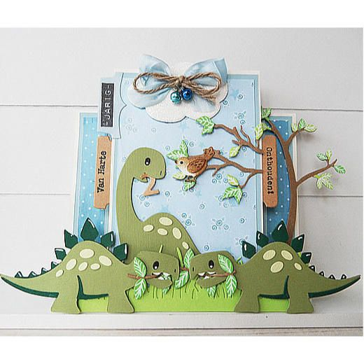 Marianne Design Collectables Cutting Dies - Eline's Dinosaurs COL1400