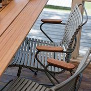 Stuhl mit niedriger Lehne 'Click'