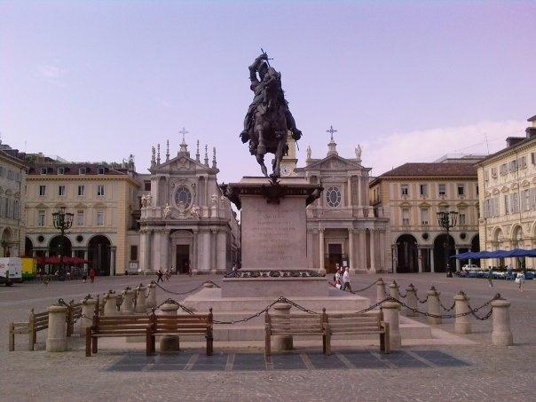 Piazza San Carlo TORINO italy
