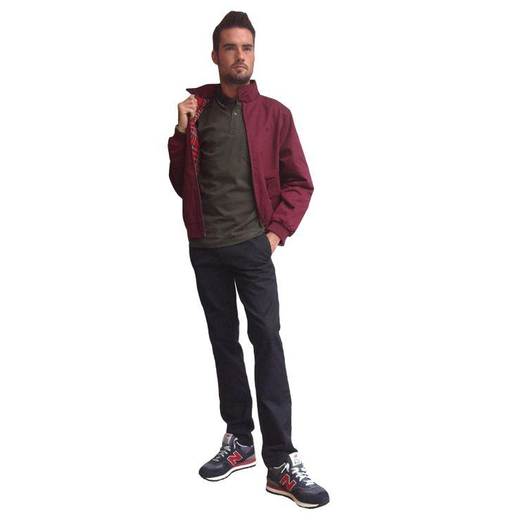 #wilcolook #moda #hombre #man. cazadora #merc polo #merc pantalon #carhartt zapatilla #newbalance http://www.miinto.es/shops/b-1040-wilco