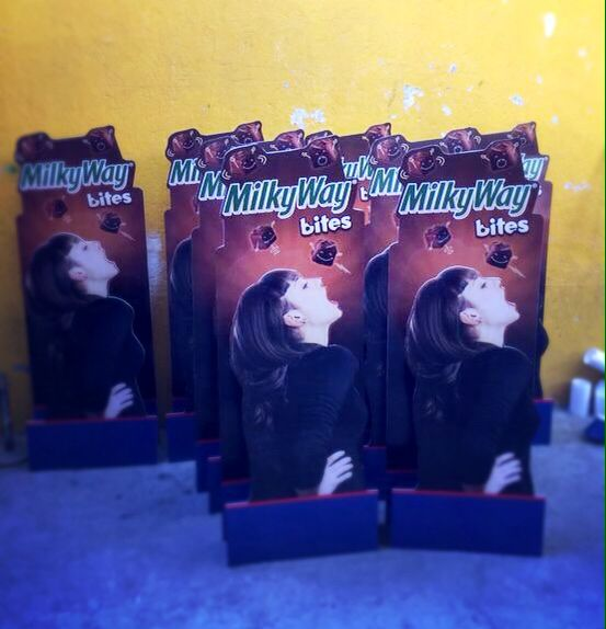 Publicidad MilkyWay http://www.makersgroup.com.mx/