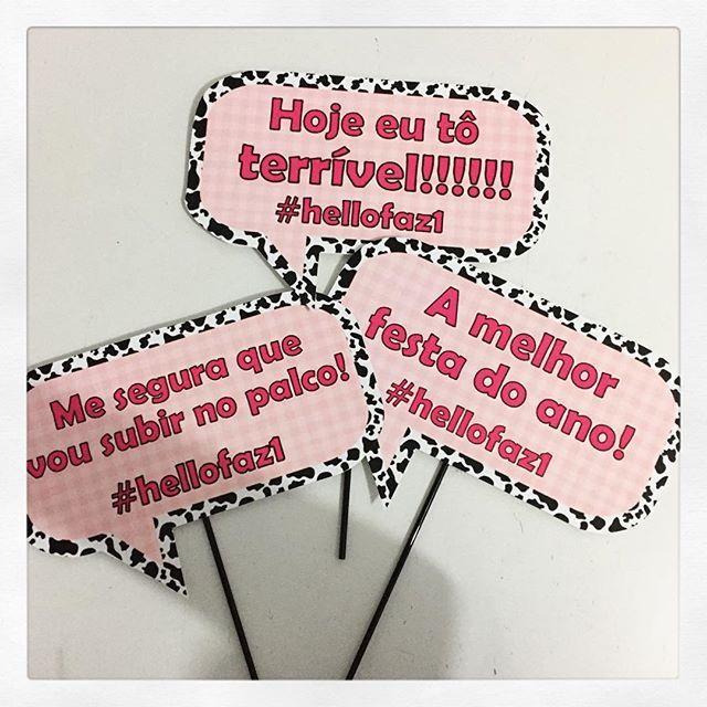 Plaquinhas personalizadas para a festa fazendinha da Helloisa! #fazendinha #personalizados #ratchimbum #ratchimbumemnovoendereco #novaodessa #plaquinhasdivertidas