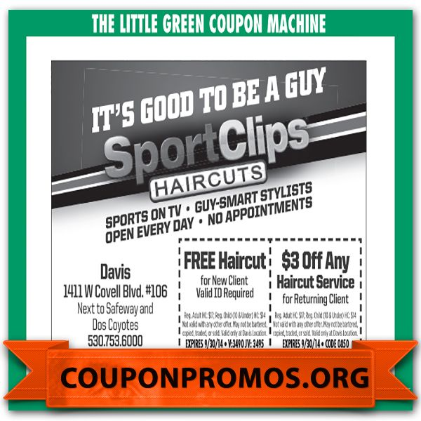 graphic regarding Sports Clips Free Haircut Printable Coupon titled Sports activities clip coupon - Sleeping bag with pillow
