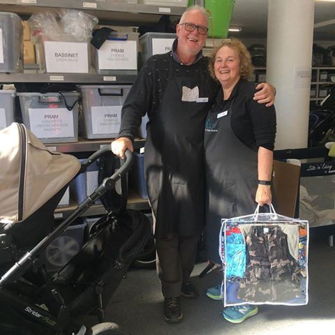 Lawrie and Vicki are our first husband and wife volunteers. Laurie is tackling tinkering and Vicki bundling. Welcome to our team! If you would like to volunteer please email: volunteer@stkildamums.org #retirement #keepingactivetogether #loveourvolunteers