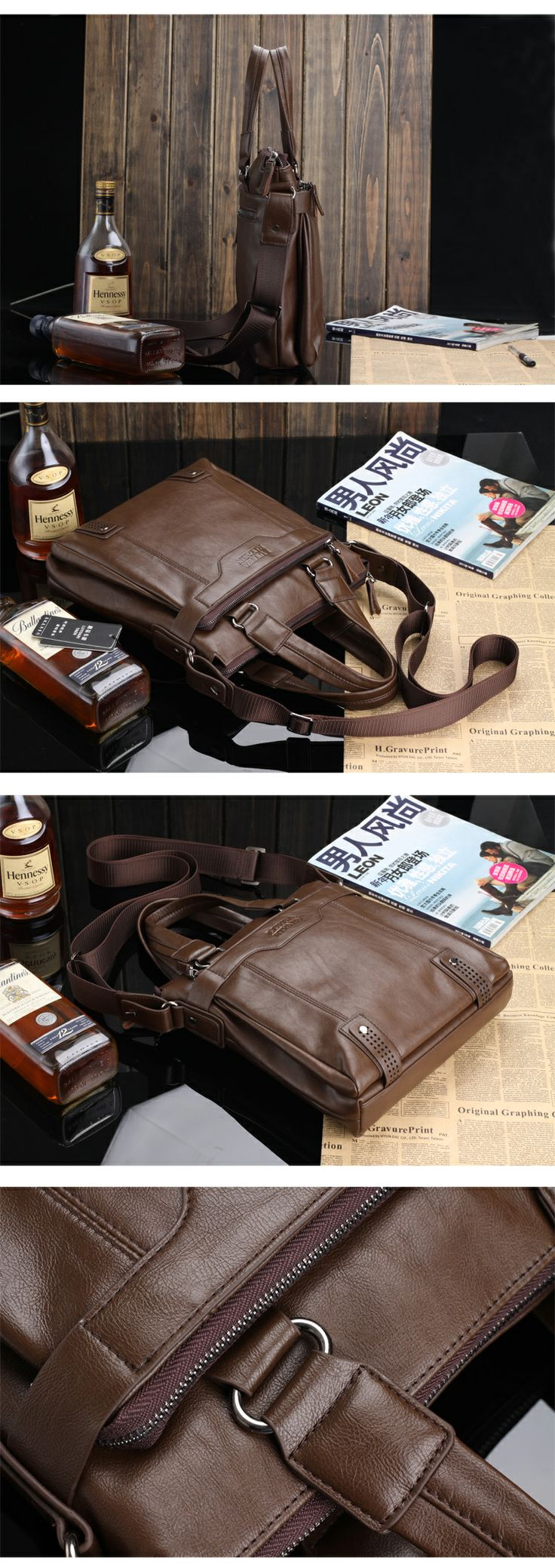 Male handbags shoulder bag messenger bag male business casual men's bag-inMessenger Bags from Luggage & Bags on Aliexpress.com