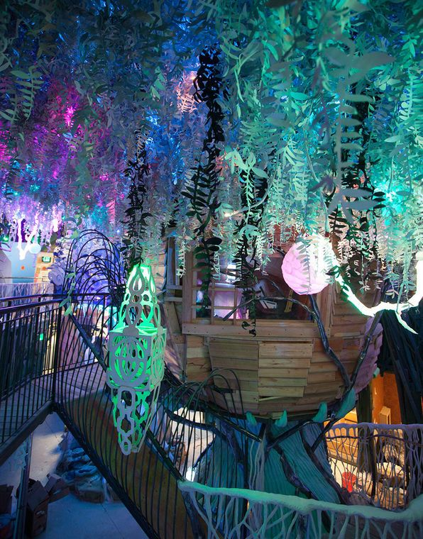 SANTA FE, NM USA - Meow Wolf's 'The House of Eternal Return'