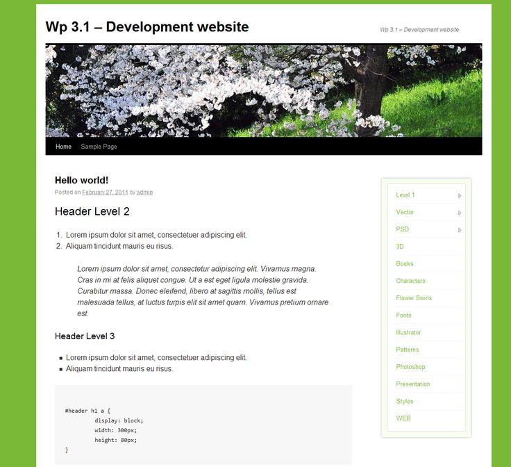 niceMenu – Wordpress Plugin    A new way to slide between multiple level huge menu.    Now as a wordpress plugin!    You can navigate on multiple levels very easy!    Just a few clicks & the menu i...