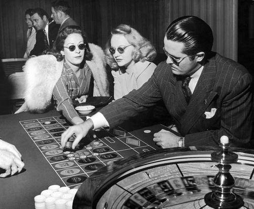 Vintage roulette image