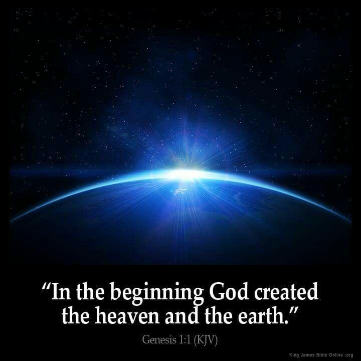 Genesis 1:1 KJV