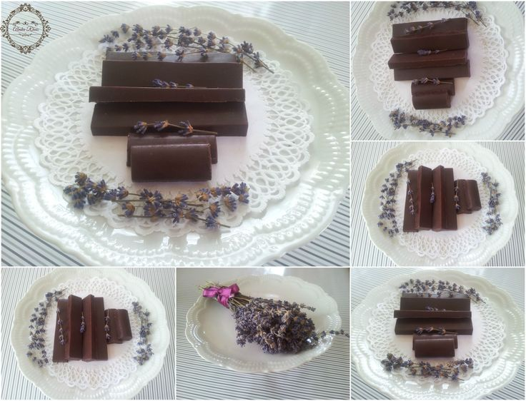 ~~Raw Chocolate Bars~~Dried Lavender&Vanilla