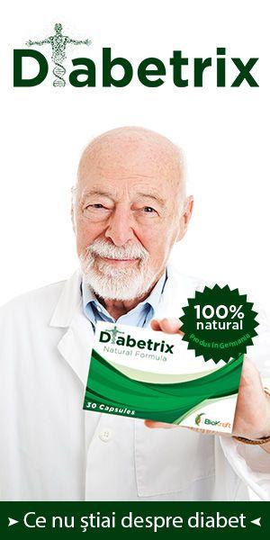 Este un remediu revolutionar in lupta cu diabetul, prin felul in care abordeaza aceasta afectiune, prin calitatea ingredientelor si combinarea acestora • Este un supliment alimentar 100% natural produs in Germania •
