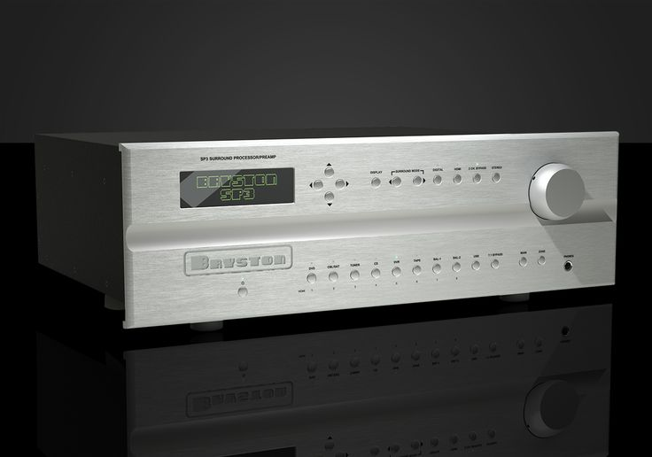 Bryston Limited: SP3 Surround Processor / Preamplifier