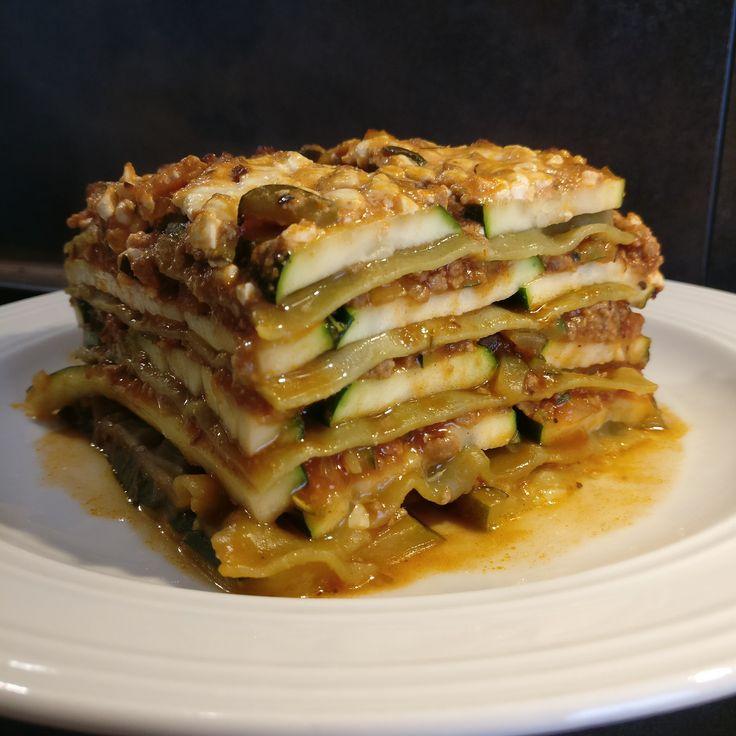 Zucchini-Lasagne // Zucchini Lasagna