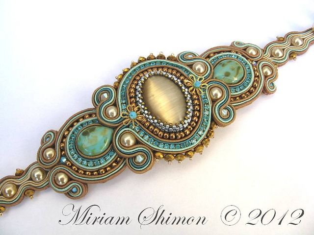 Soutache bracelet | Flickr - Photo Sharing!
