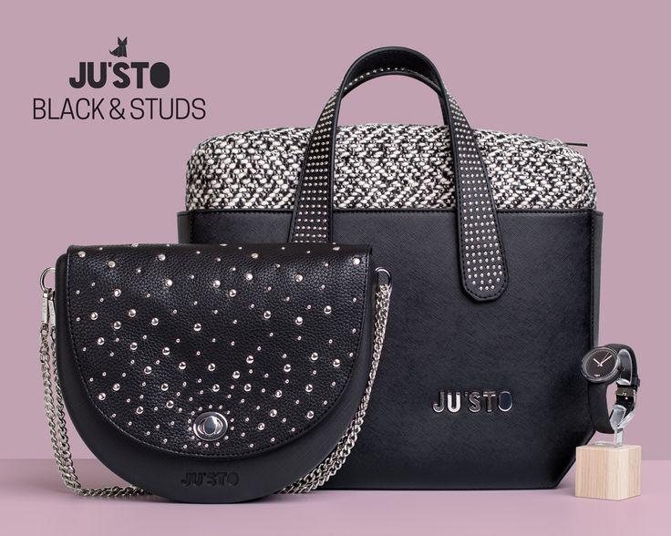 JU'STO BLACK AND STUDS!