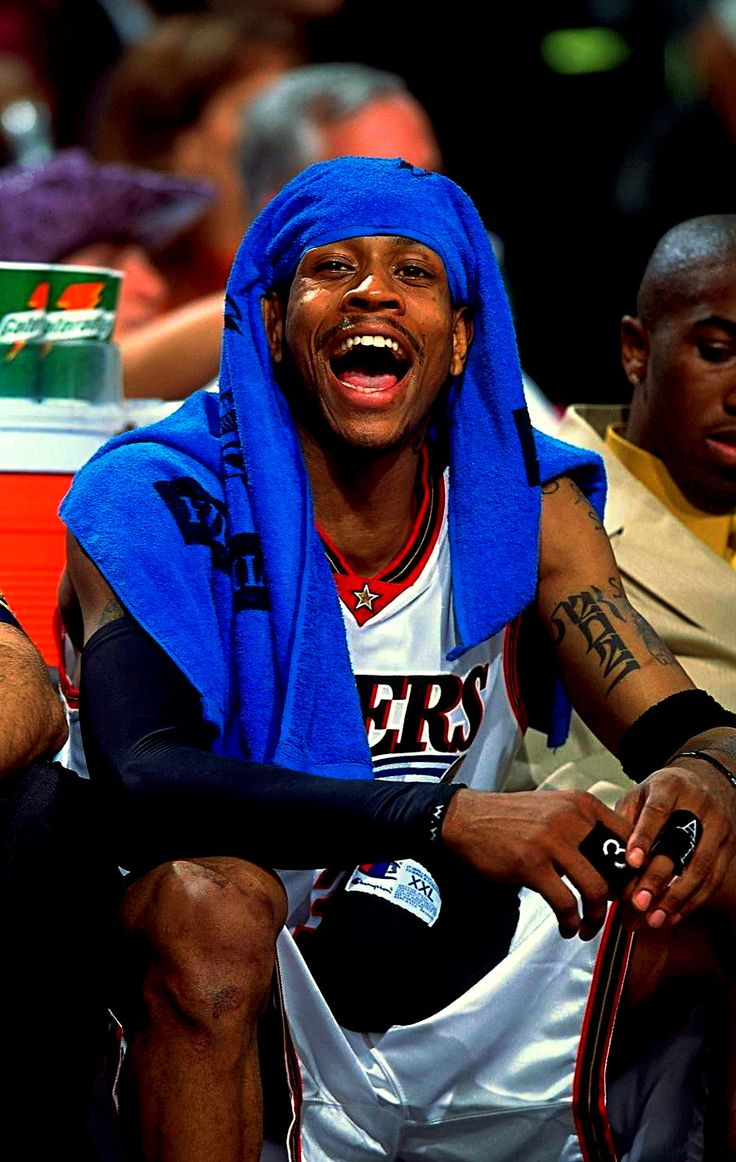 Allen Iverson. This is how he would be every time the Sixers played Toronto