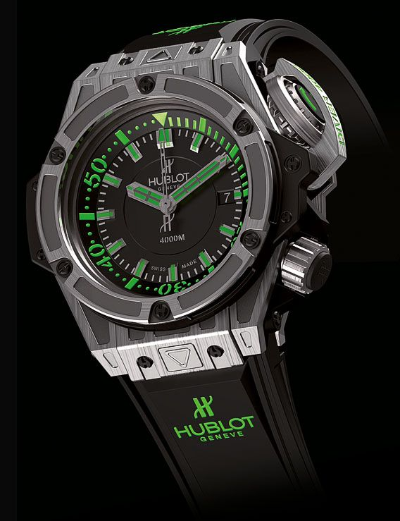 HUBLOT : KING POWER DIVER 4000 TITANE - 48 MM