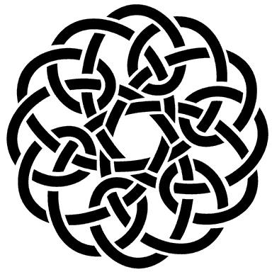 Áine Celtic crest - Irish goddess of summer, wealth and sovereignty