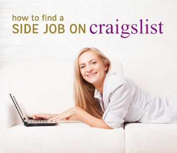 Need to make extra money? Find out how to get a LEGIT side job on craigslist #money #finances #jobs