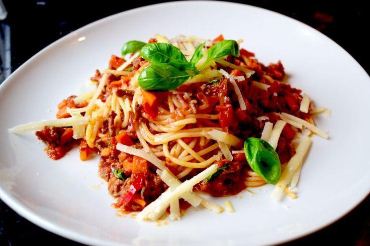 Pasta Bolognese - Hverdagsmiddag på under 20 minutter