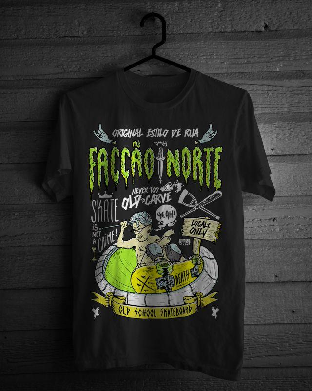 T-Shirts prints - Facção Norte on Behance