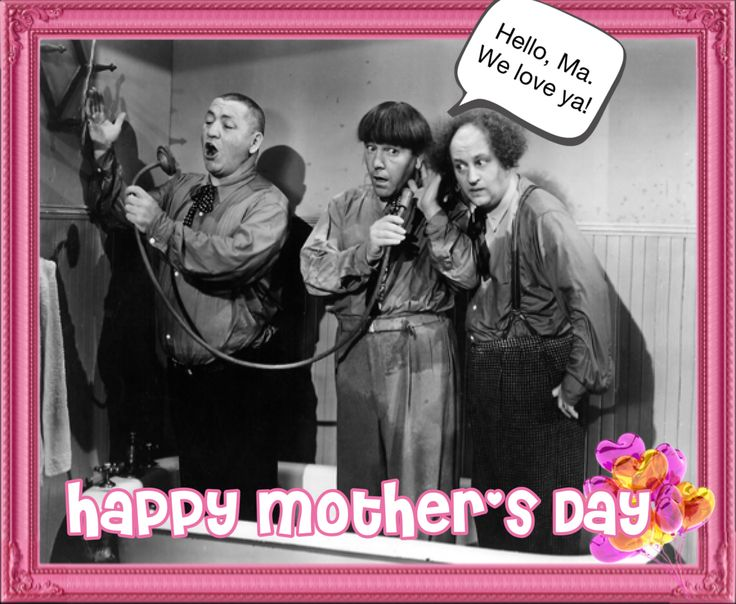 Happy #mothersday from The Boys! #threestooges