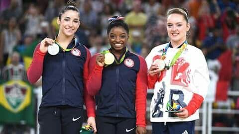 The 2016 Olympic Floor champions! RIO