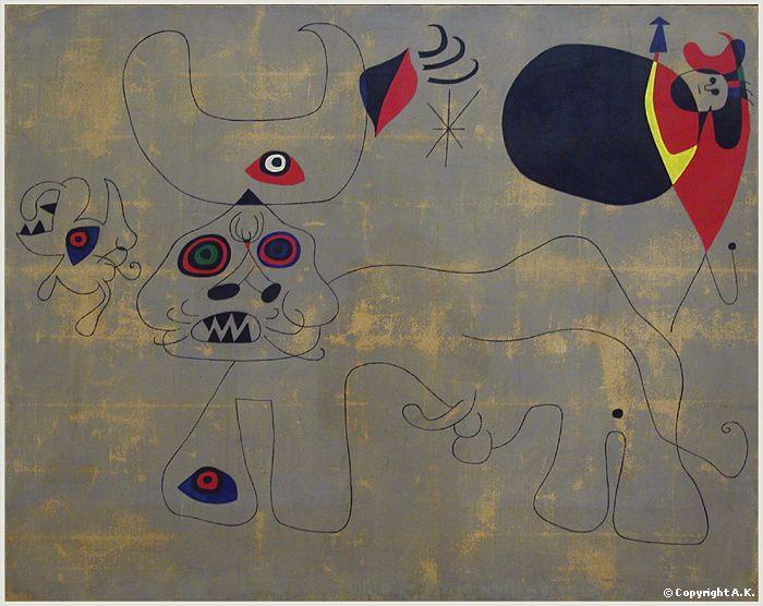 Joan Miro-La course de taureaux