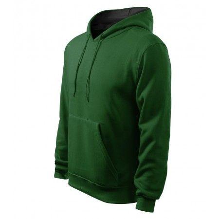 """Heren hoody Sweatshirt Heren Hoodie of hoody van mooie kwaliteit De sweater is gemaakt van een combinatie van katoen en polyester dat maakt hem sterk en kleur vast. Een trendy trui met een capuchon en een """"kangaroo"""" zak. Capuchon met gaas aan de binnenkant in een grijze kleur. De lagere zoom en manchetten zijn gemaakt van geribbeld en gebreid 2 x 2 met 5% elastan, schouders en zak hebben kunst stiksels. Het shirt is zeer geschikt om te bedrukken of te borduren en"""