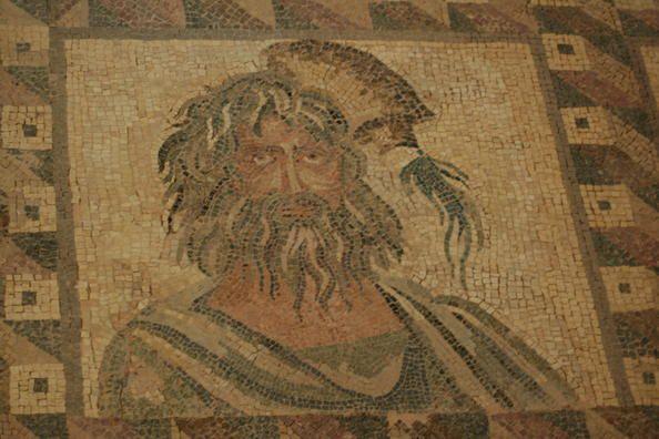Paphos (Chypre)  - Temple d'Aphrodite - XIIème siècle avant JC