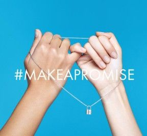 #makeapromise I will make it and u? #LVforUNICEF